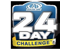 24 day challenge logo