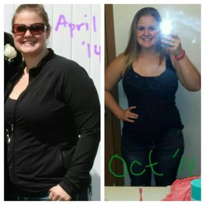 """From April to October, 23 lbs gone! I still have more weight to lose but I'm thrilled with how far I've come!"" - ABH"